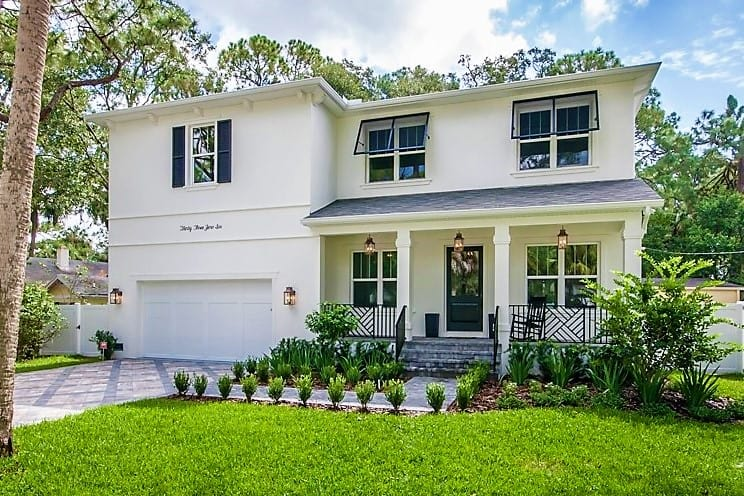 South Tampa Luxury Home   Exterior